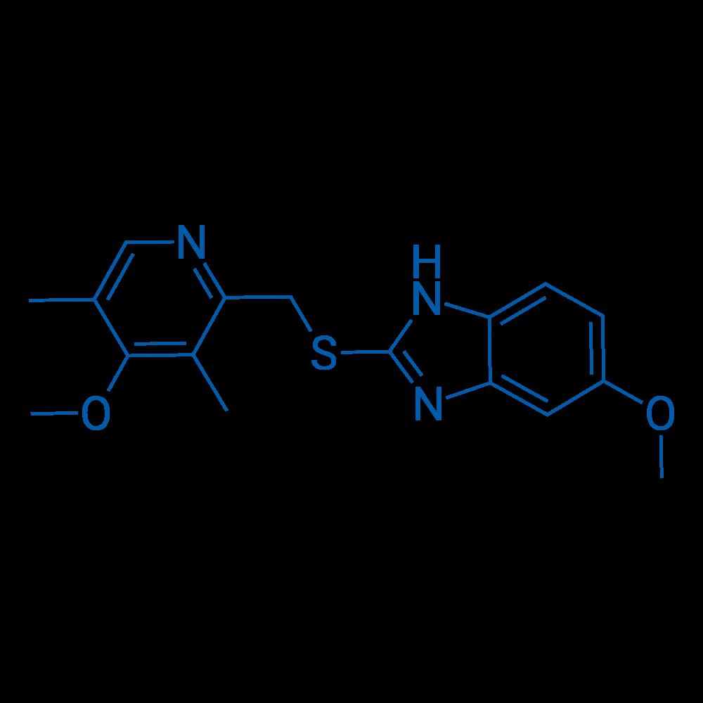 5-Methoxy-2-[[(4-methoxy-3,5-dimethyl-2-pyridyl)methyl]thio]benzimidazole