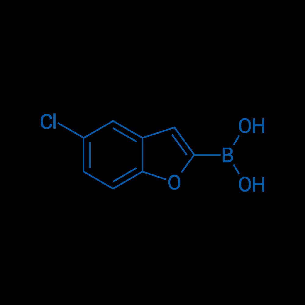 (5-Chlorobenzofuran-2-yl)boronic acid
