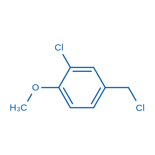2-Chloro-4-(chloromethyl)-1-methoxybenzene