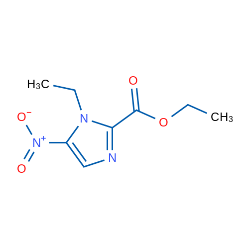 Ethyl 1-ethyl-5-nitro-1H-imidazole-2-carboxylate