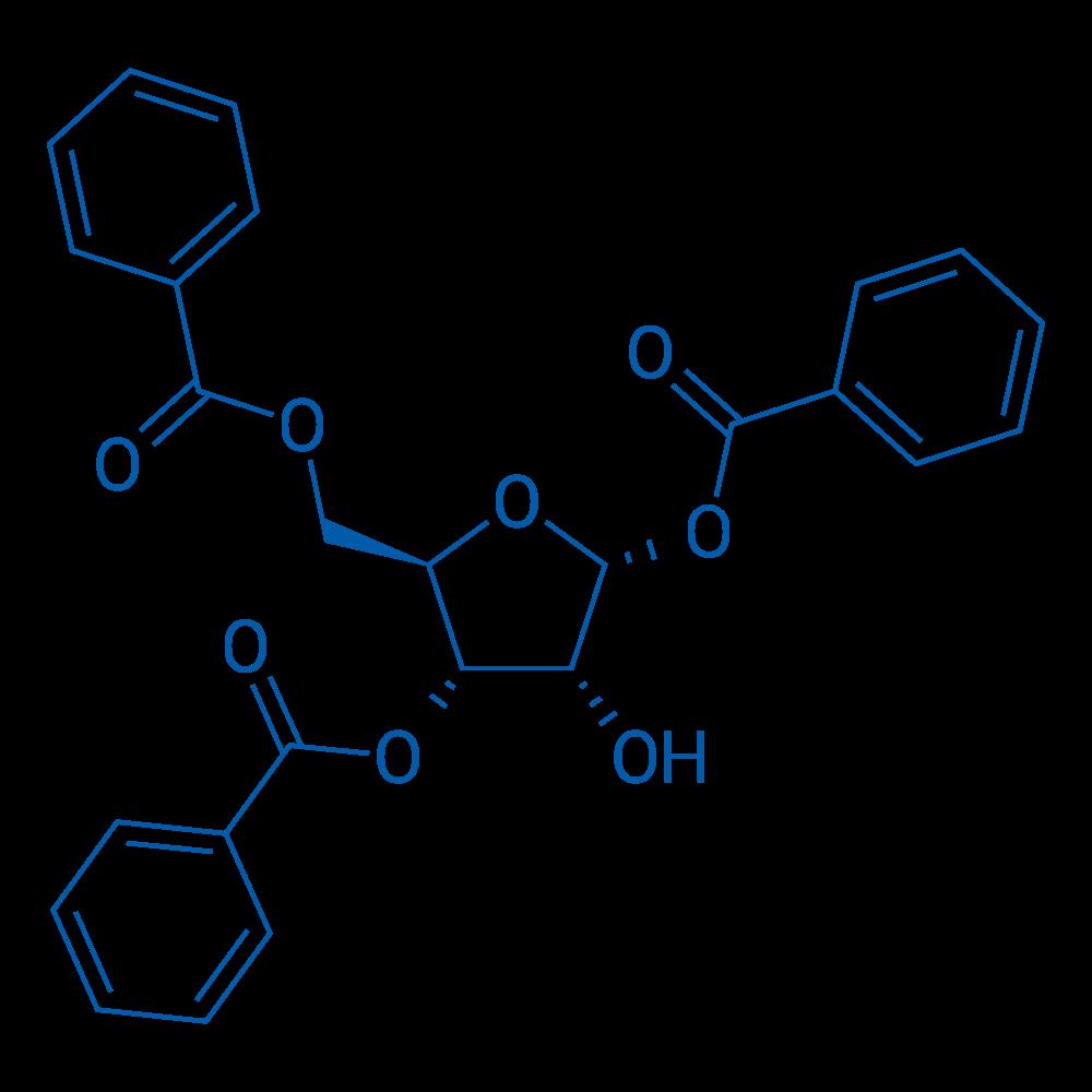 1,3,5-Tri-O-benzoyl-a-D-ribofuranose