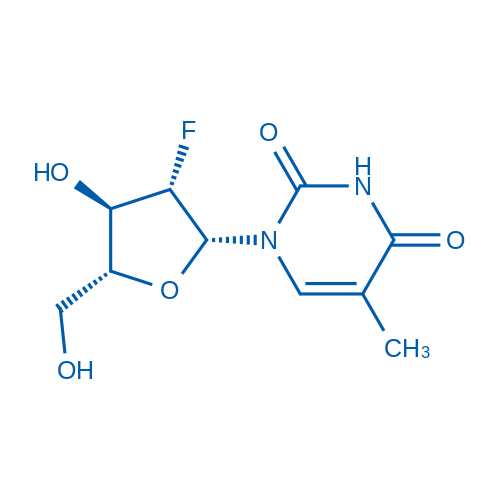 1-(2-Deoxy-2-fluoro-b-D-arabinofuranosyl)-5-methyluracil