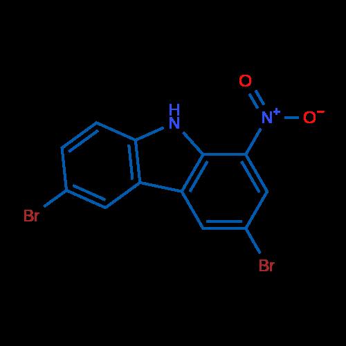 3,6-Dibromo-1-nitro-9H-carbazole