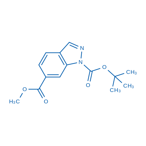 1-tert-Butyl 6-methyl 1H-indazole-1,6-dicarboxylate