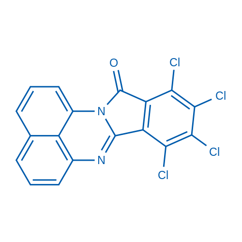 8,9,10,11-Tetrachloro-12H-isoindolo[2,1-a]perimidin-12-one