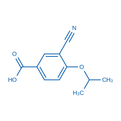 3-Cyano-4-isopropoxybenzoicacid
