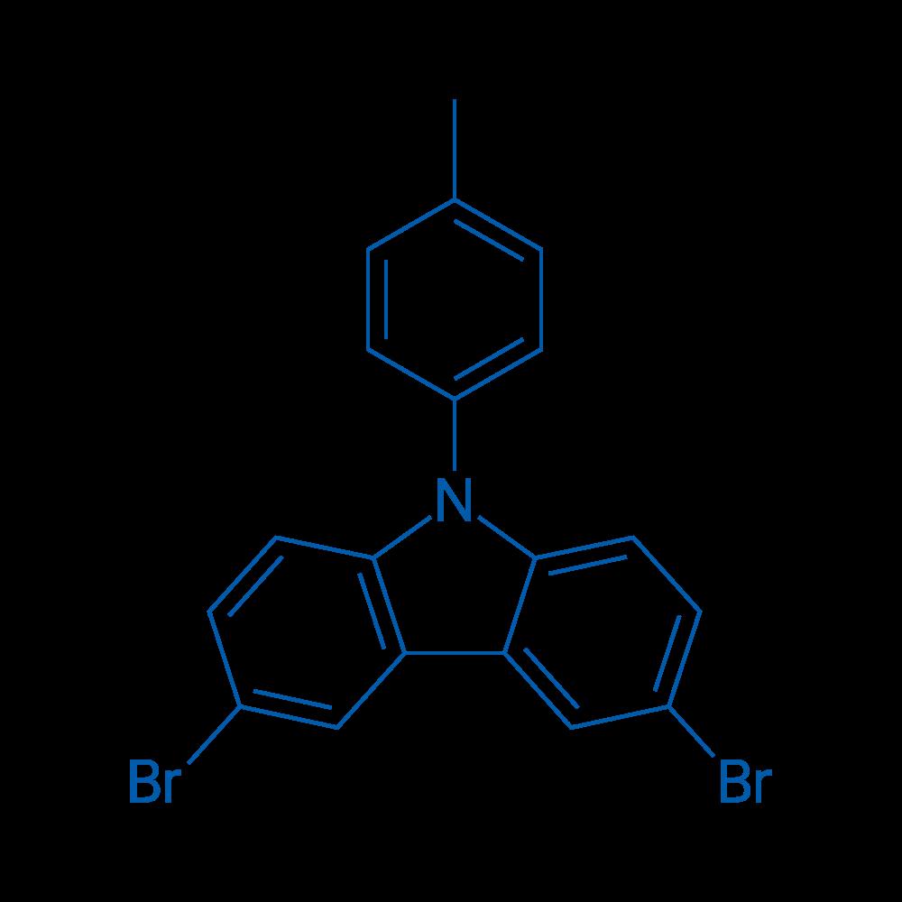3,6-Dibromo-9-(p-tolyl)-9H-carbazole