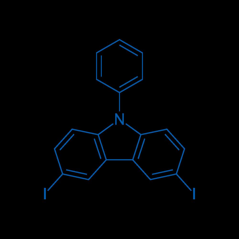3,6-Diiodo-9-phenyl-9H-carbazole