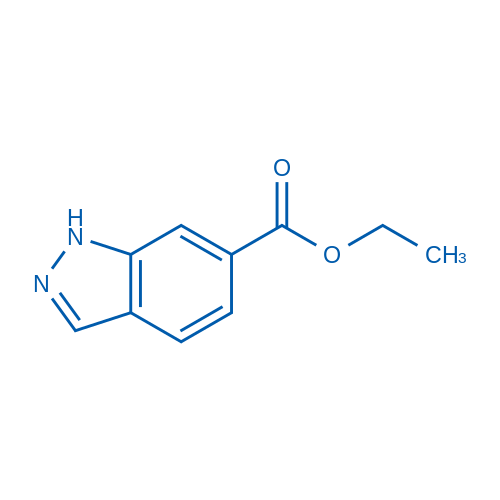 Ethyl 1H-indazole-6-carboxylate