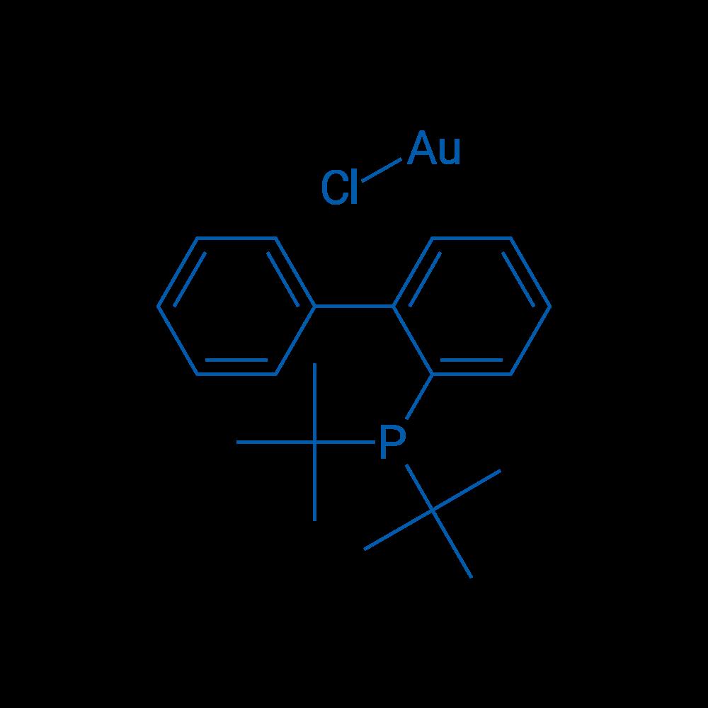 Chloro[2-(di-t-butylphosphino)biphenyl]gold(I)