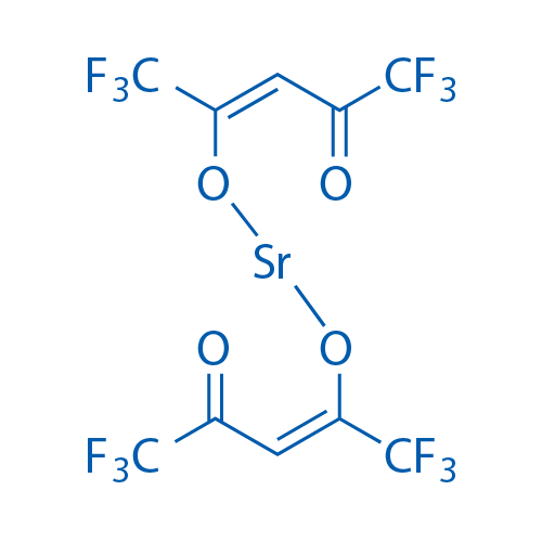 Strontium 1,1,1,5,5,5-hexafluoro-4-oxopent-2-en-2-olate