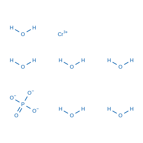 Chromium(iii)phosphatehexahydrate
