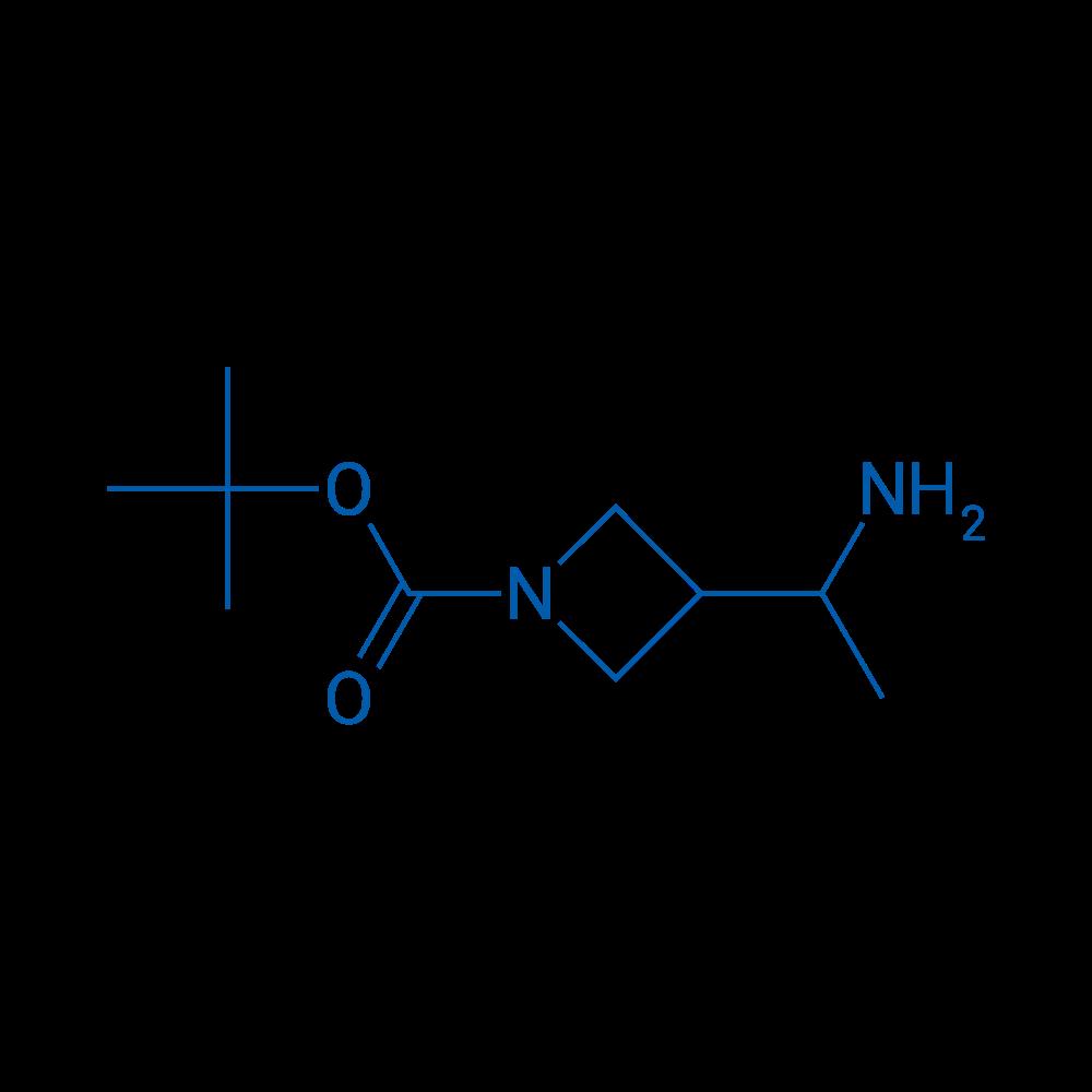 tert-Butyl 3-(1-aminoethyl)azetidine-1-carboxylate