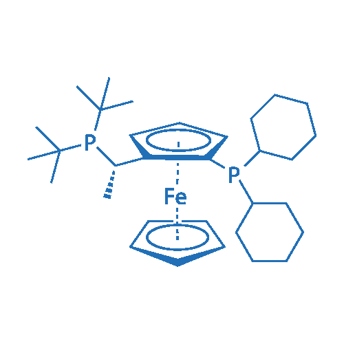 (S)-1-[(RP)-2-(Dicyclohexylphosphino)ferrocenyl]ethyldi-tert-butylphosphine