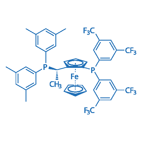 (S)-1-{(RP)-2-[Bis[3,5-bis(trifluoromethyl)phenyl]phosphino]-ferrocenyl}ethyldi(3,5-xylyl)phosphine