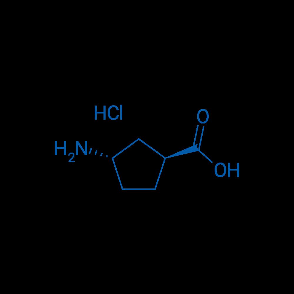 (1S,3S)-3-Aminocyclopentanecarboxylic acid hydrochloride