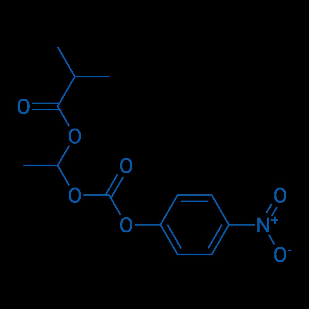 1-(((4-Nitrophenoxy)carbonyl)oxy)ethyl isobutyrate