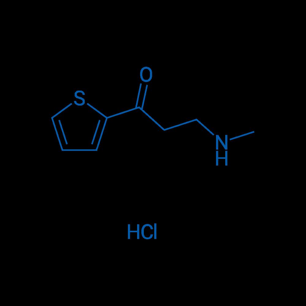 3-(Methylamino)-1-(thiophen-2-yl)propan-1-one hydrochloride
