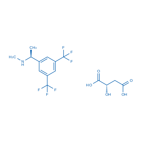 (S)-1-(3,5-Bis(trifluoromethyl)phenyl)-N-methylethanamine (S)-2-hydroxysuccinate