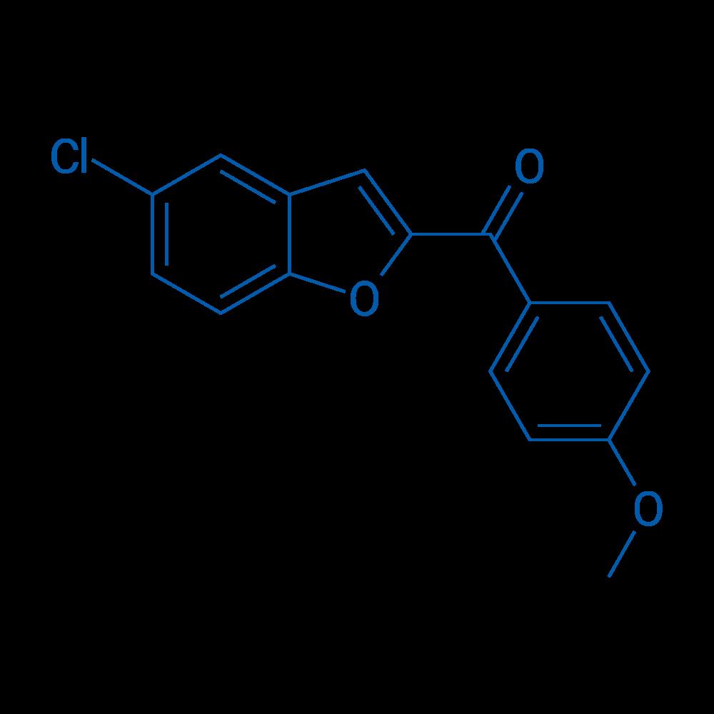 (5-Chlorobenzofuran-2-yl)(4-methoxyphenyl)methanone