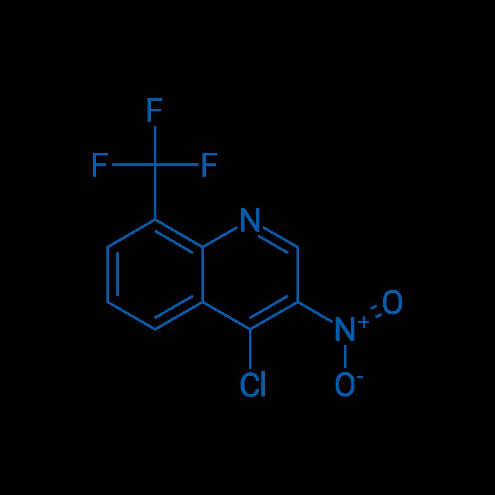 4-Chloro-3-nitro-8-(trifluoromethyl)quinoline