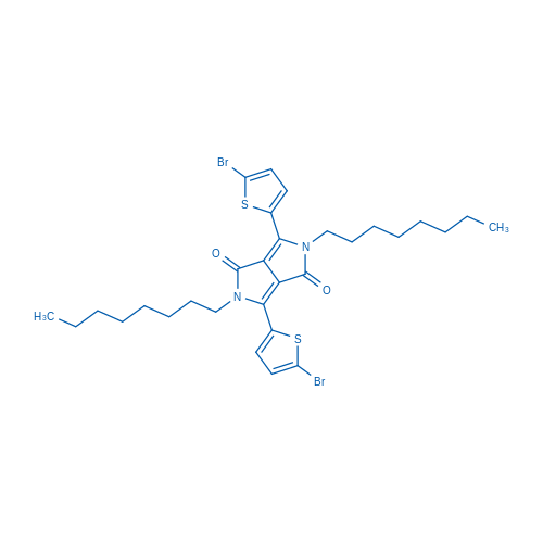 3,6-Bis(5-bromothiophen-2-yl)-2,5-dioctylpyrrolo[3,4-c]pyrrole-1,4(2H,5H)-dione