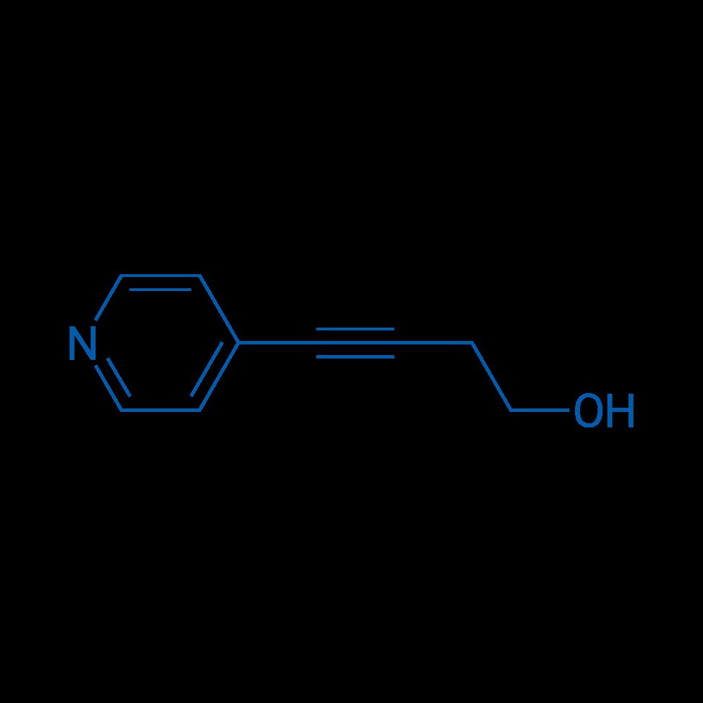 4-(Pyridin-4-yl)but-3-yn-1-ol