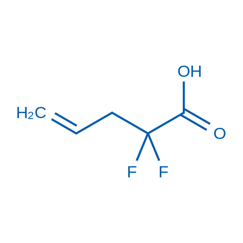 2,2-Difluoropent-4-enoic acid