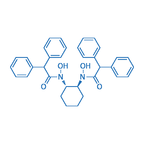 N,N'-((1S,2S)-Cyclohexane-1,2-diyl)bis(N-hydroxy-2,2-diphenylacetamide)
