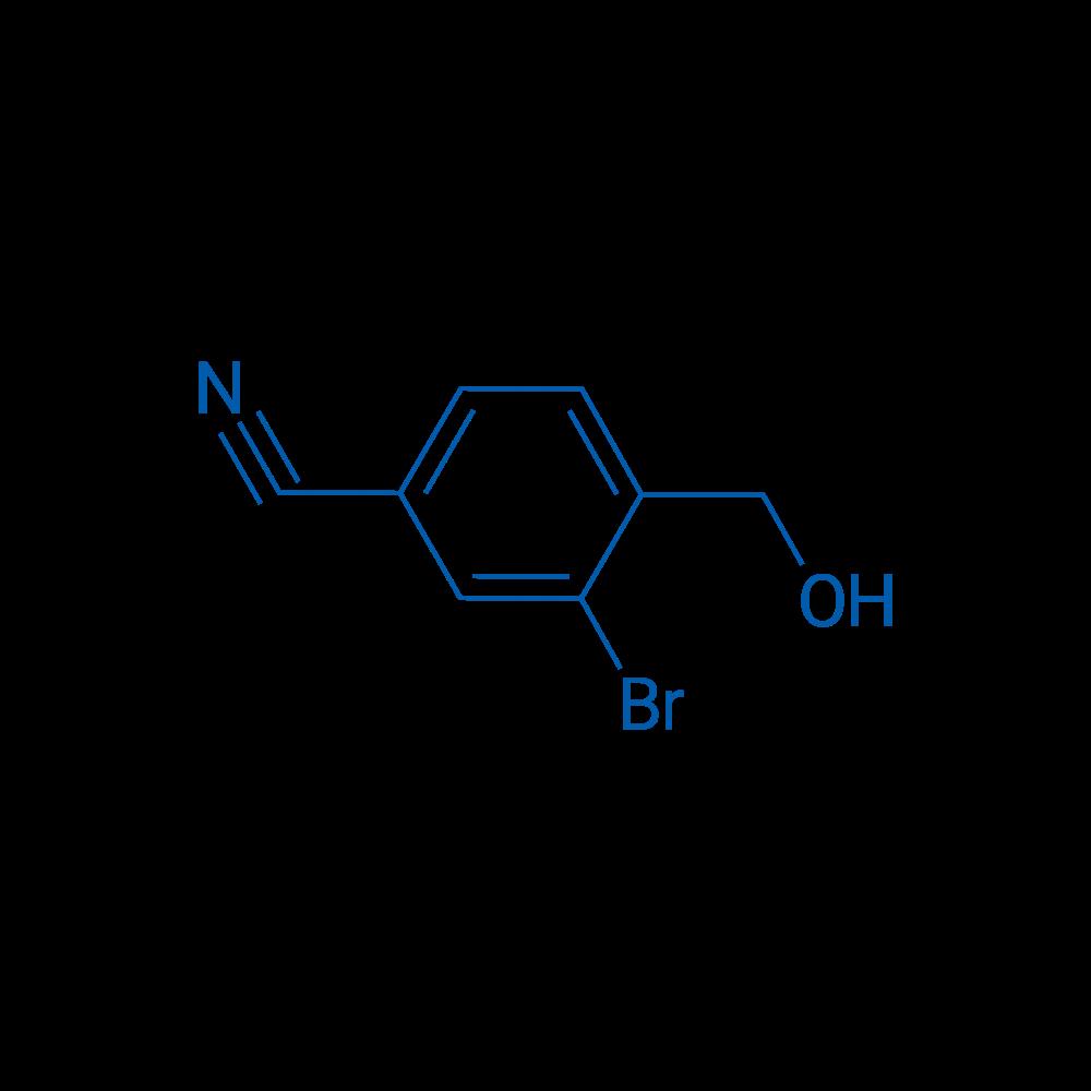 3-Bromo-4-(hydroxymethyl)benzonitrile
