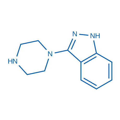 3-(Piperazin-1-yl)-1H-indazole