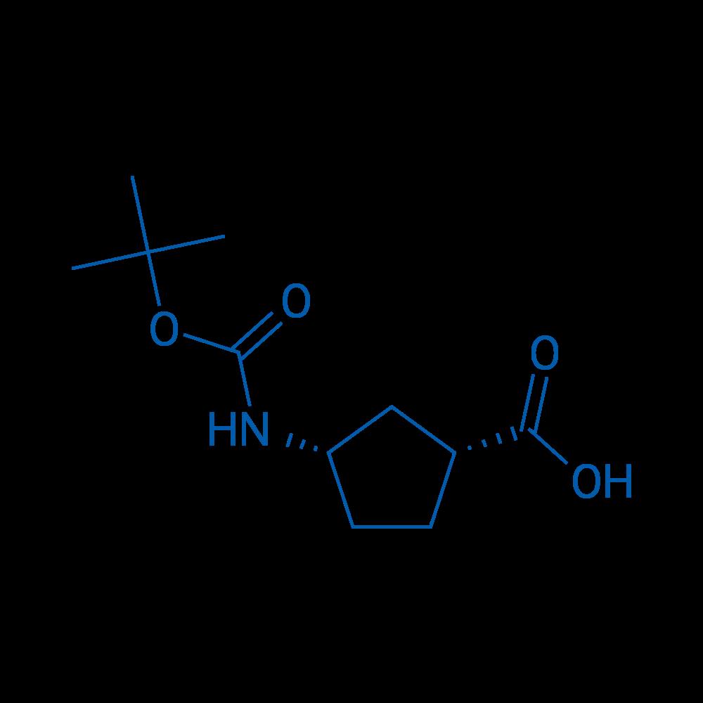 cis-3-(Boc-amino)cyclopentanecarboxylic Acid