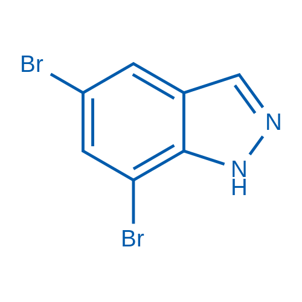 5,7-Dibromo-1H-indazole