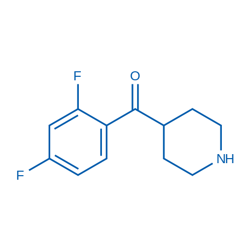 (2,4-Difluorophenyl)(piperidin-4-yl)methanone