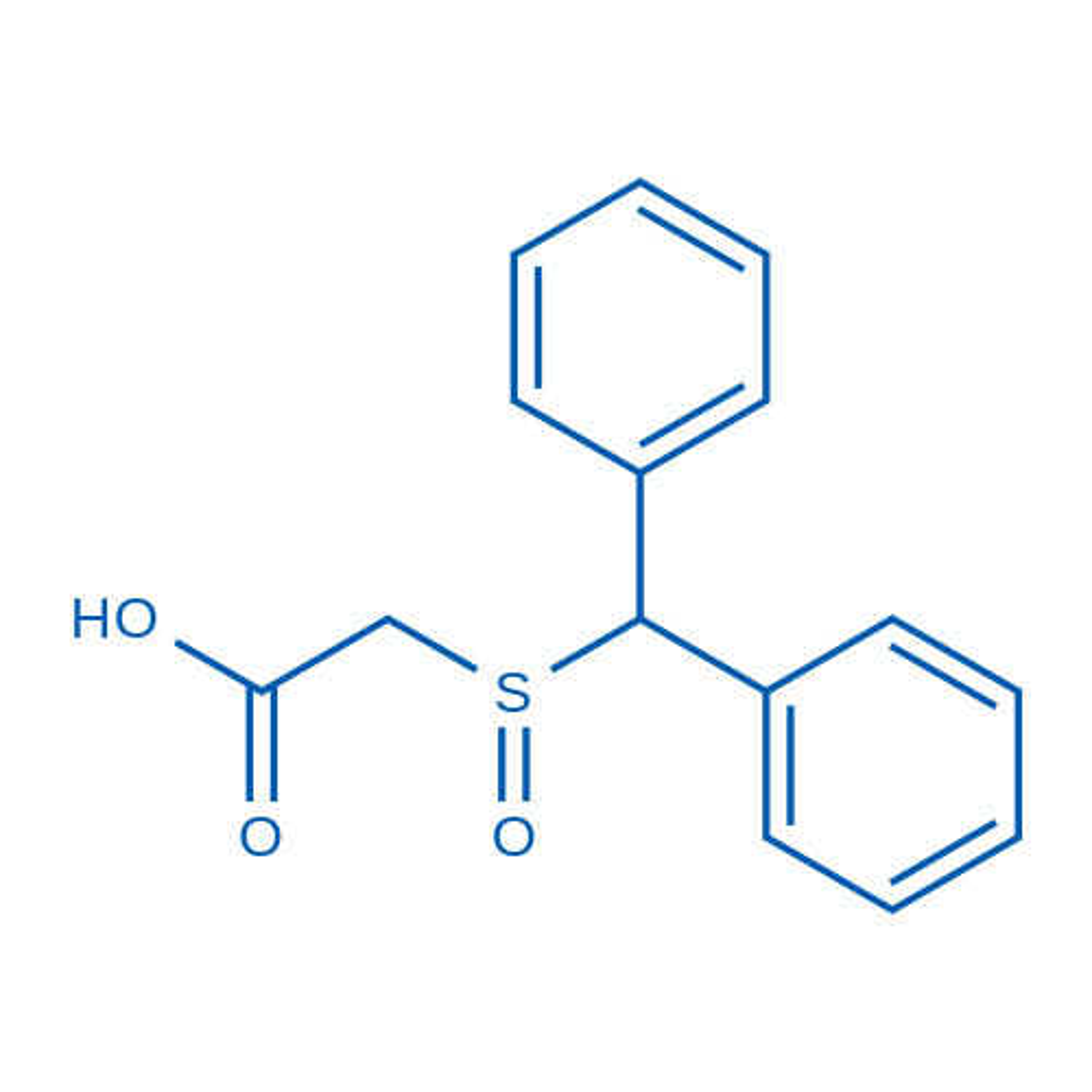 2-(Benzhydrylsulfinyl)acetic acid