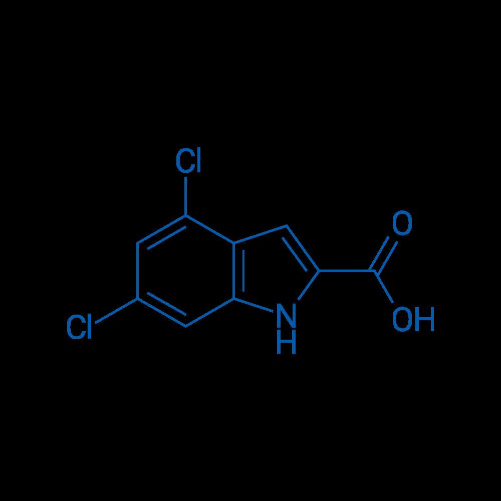 4,6-Dichloroindole-2-carboxylic acid