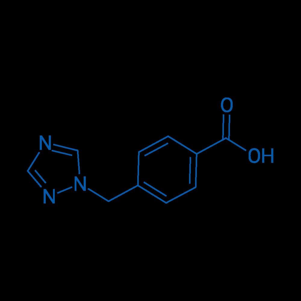 4-((1H-1,2,4-Triazol-1-yl)methyl)benzoic acid
