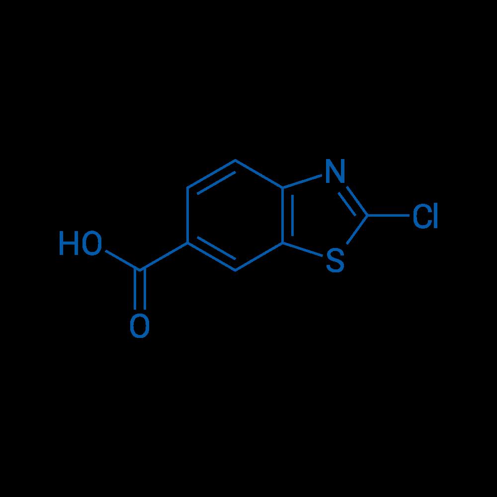 2-Chloro-6-benzothiazolecarboxylic acid