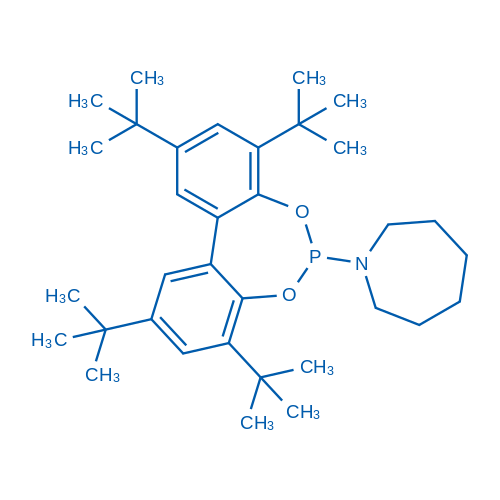 1-(2,4,8,10-Tetra-tert-butyldibenzo[d,f][1,3,2]dioxaphosphepin-6-yl)azepane