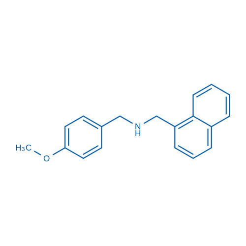 N-(4-Methoxybenzyl)-1-(naphthalen-1-yl)methanamine