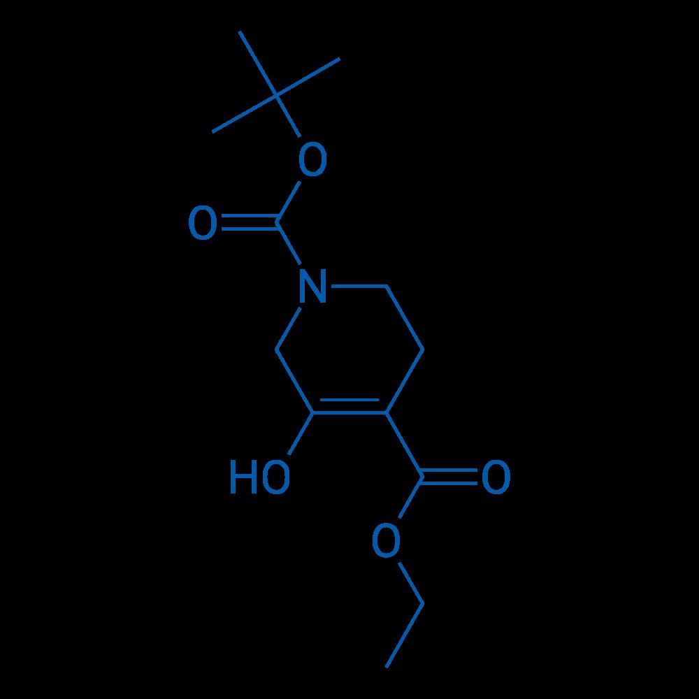 1-tert-Butyl 4-ethyl 3-hydroxy-5,6-dihydropyridine-1,4(2H)-dicarboxylate