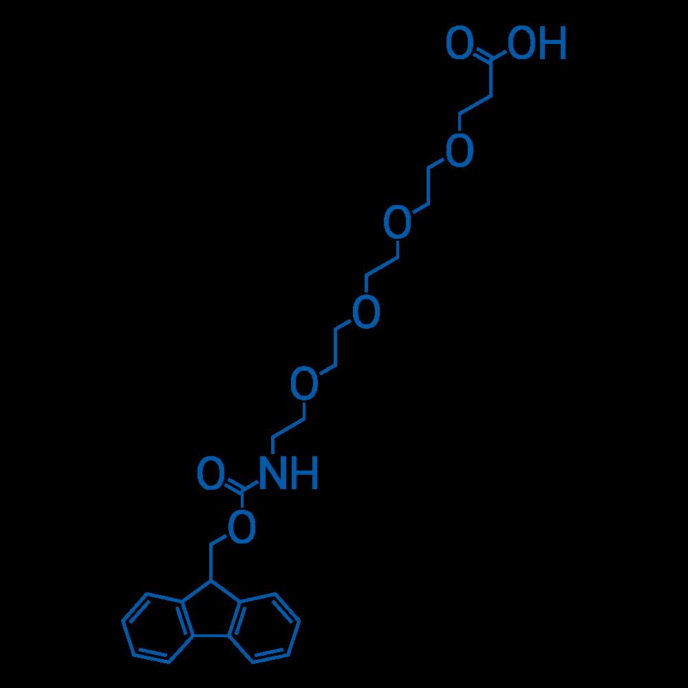 1-(9H-Fluoren-9-yl)-3-oxo-2,7,10,13,16-pentaoxa-4-azanonadecan-19-oic acid