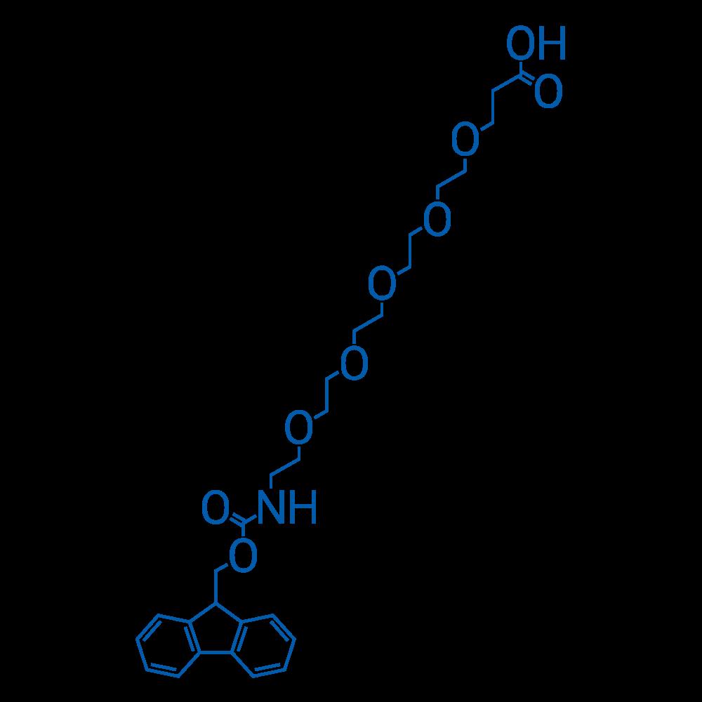 1-(9H-Fluoren-9-yl)-3-oxo-2,7,10,13,16,19-hexaoxa-4-azadocosan-22-oic acid
