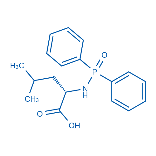 (S)-2-((Diphenylphosphoryl)amino)-4-methylpentanoic acid
