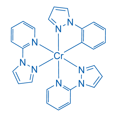 Tris(2-(1H-pyrazol-1-yl)phenyl)chromium