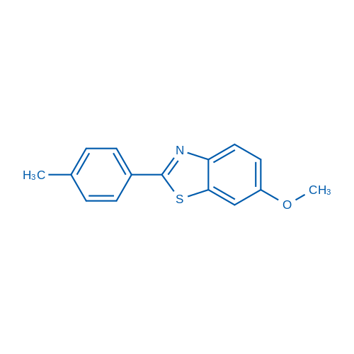 6-Methoxy-2-(p-tolyl)benzo[d]thiazole