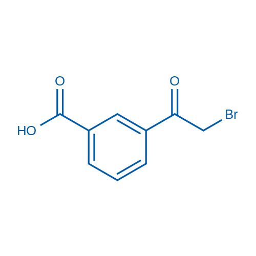 3-(2-Bromoacetyl)benzoic acid