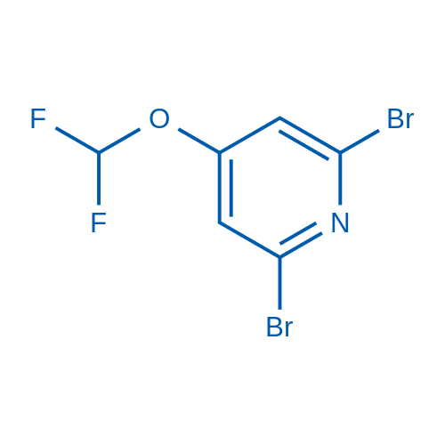 2,6-Dibromo-4-(difluoromethoxy)pyridine