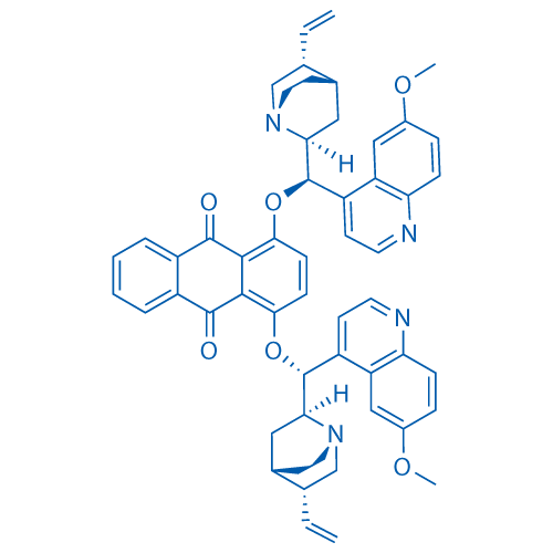 1,4-Bis((6-methoxyquinolin-4-yl)(5-vinylquinuclidin-2-yl)methoxy)anthracene-9,10-dione
