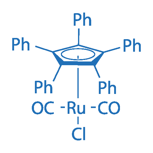 Dicarbonylchloro[(1,2,3,4,5-η)-1,2,3,4,5-pentaphenyl-2,4-cyclopentadien-1-yl]-Ruthenium